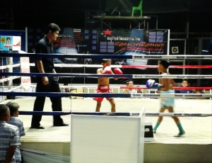 The two youngest fighters competing on the night